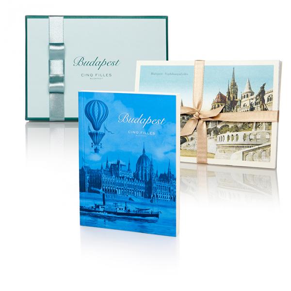 Budapest jegyzetfüzet és képeslap válogatás
