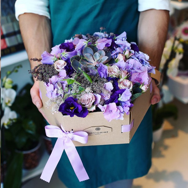 Plantomime Flower box vegyes virágokkal