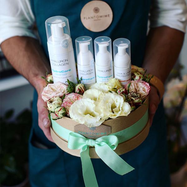 Plantomime flower box, Harangvölgyi Institue ajándék kártyával